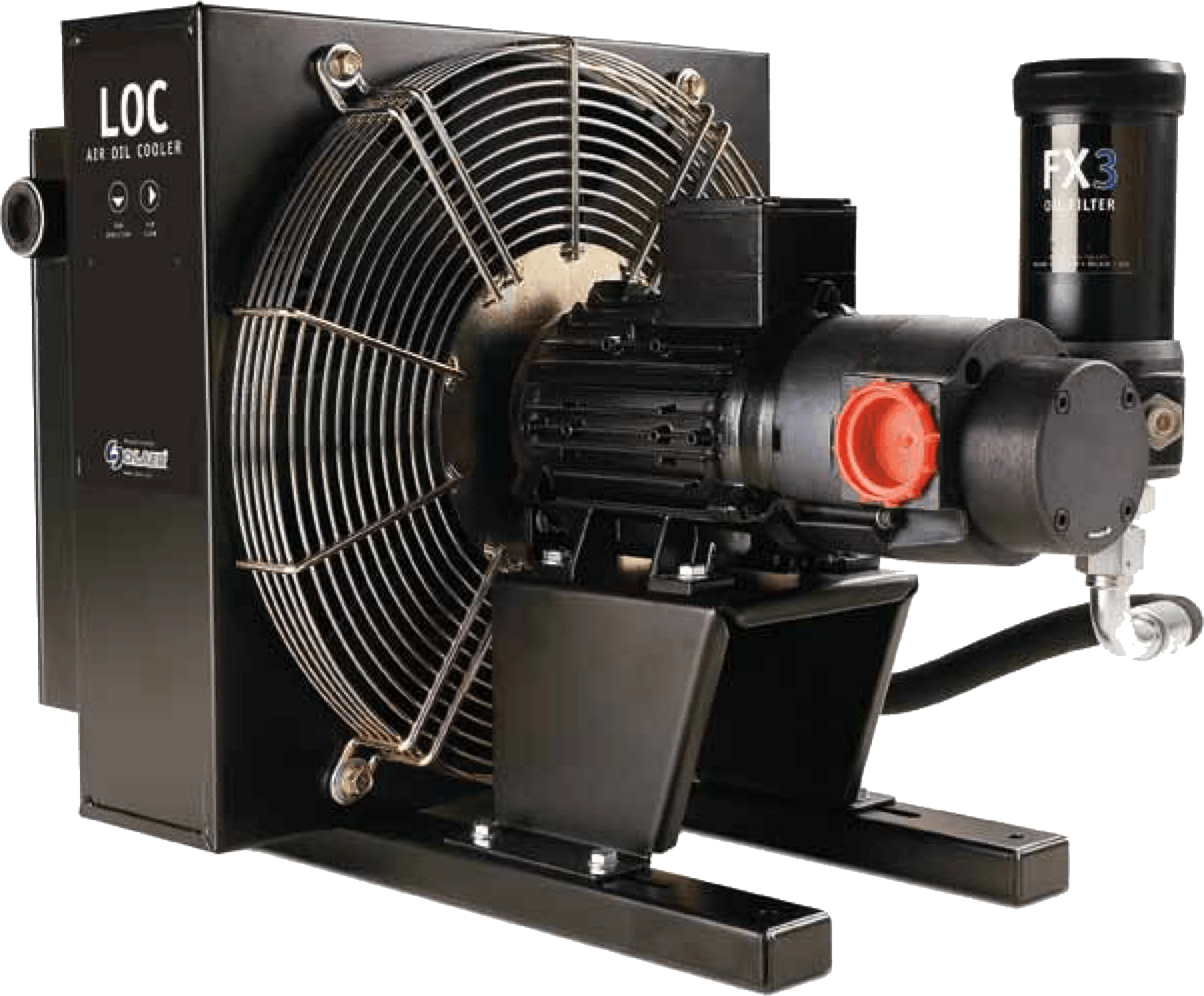 Hydraulic Water Oil Cooler  U2013 Fluid Power